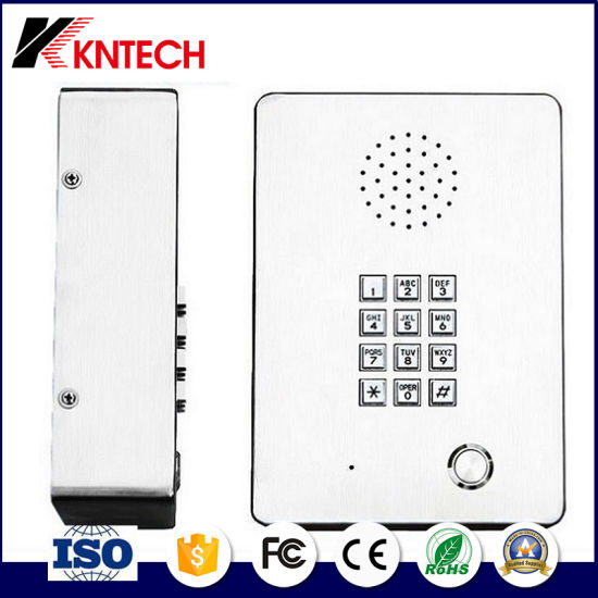 Industrial Telephone Wireless Stainless Steel Elevator Phone Knzd-03 pictures & photos