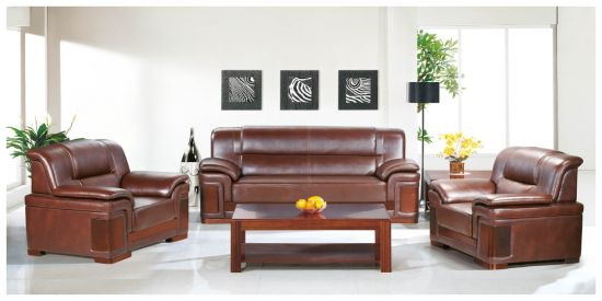 Wooden Office Solid Wood Guest Sofa