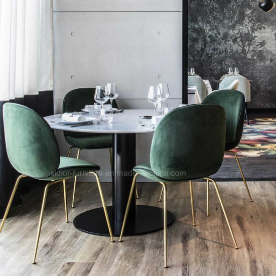 Modern Metal Beentle Dining Chair