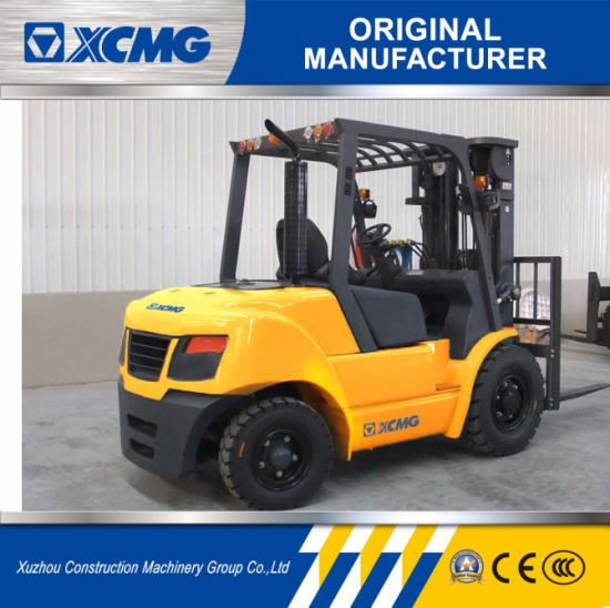 XCMG New Mini 4 Ton Diesel Forklift with Isuzu Engine for Sale