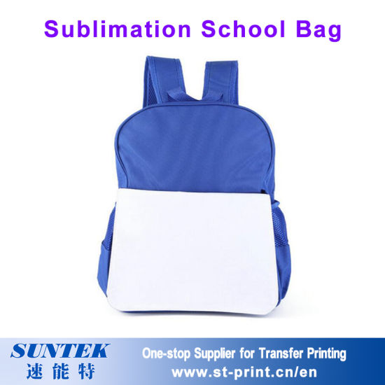 7e6f8a91c0 30 27 9cm Sublimation Blank Kids Backpack School Bag for Transfer Printing