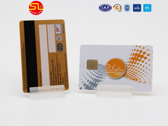 High Quality RFID PVC Chip Card with 4000OE Magnetic Stripe pictures & photos
