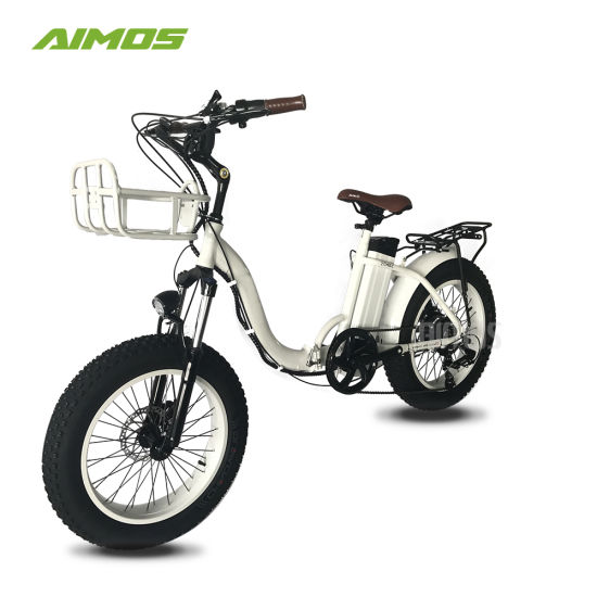 Best Price Wholesale Max Speed 30-50km/H Snow/Beach Folding Dirt Electric Bike 48V 500W Electric Bicycle Ebike pictures & photos