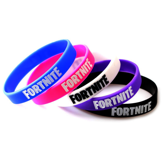 Hot Fortnite Silicone Bracelets for Amazon Wholesale