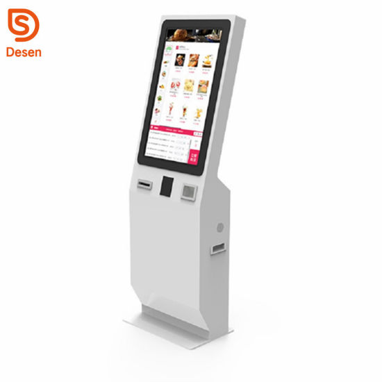 China Electronic Qr Barcode Scanner Kiosk for Self Ordering in Hotel or Restaurant pictures & photos