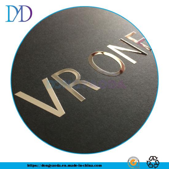 Custom Labels/Nickel Electroforming Plate Embossed Metal 3D Logo Sticker