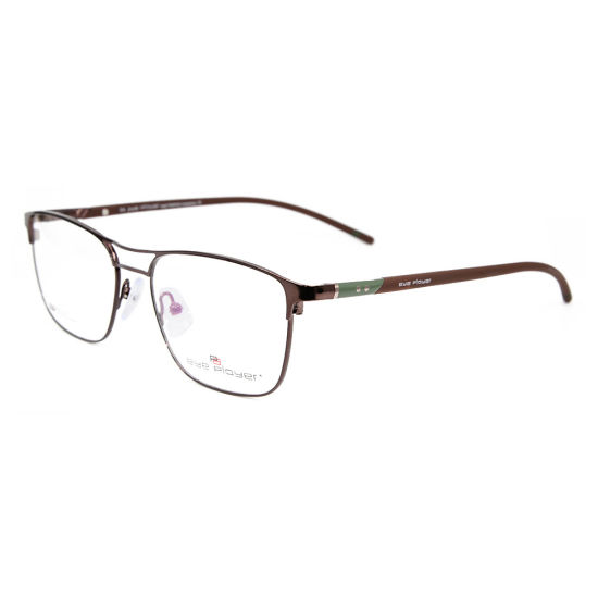 New Design Double Bridge Eyewear Metal Frame with Light Tr90 Optical Frame for Men