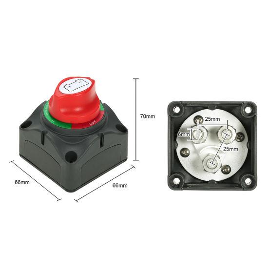 Battery Kill Switch >> Universal 12v 24v Battery Isolator Master Cutoff Cut Off