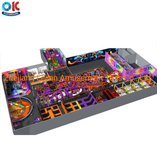 Ok Playground Children Commercial Indoor Playground Kids Games Amusement Park Playground Equipment