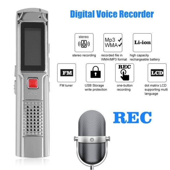 Mini Size 8GB Sk-013 USB Drives Voice Audio Recorder Pen for Meetings Lessons pictures & photos