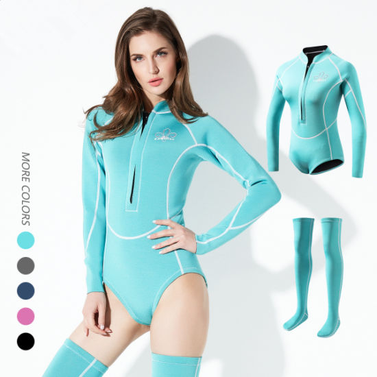 Wholesale Latest Neoprene Best Sets Suit Women′s Surfing Swimming/Diving Wetsuit pictures & photos
