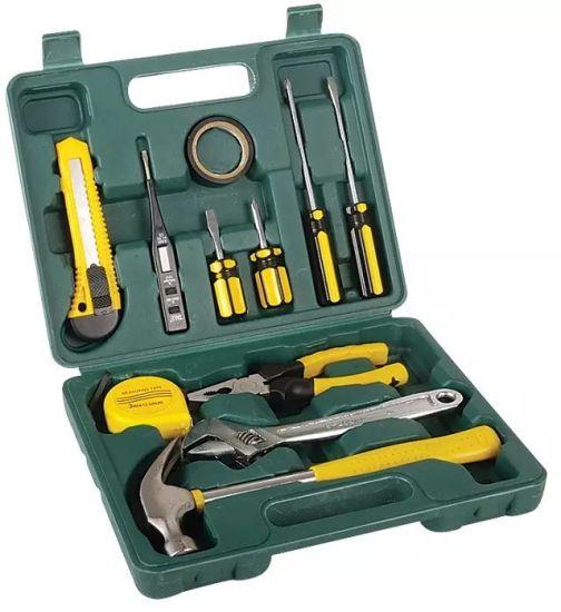 11PCS Tin Box Set Free Sample Hand Tools/Promotional Tool Box Sets