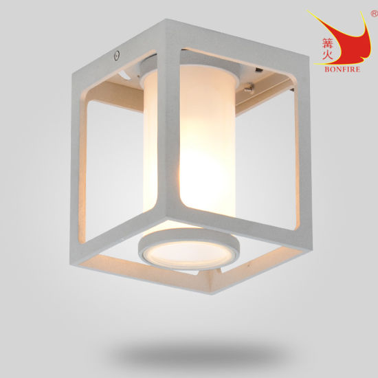 Hot Sales Square Cute Surface Mounted LED Outdoor Ceiling Lamp
