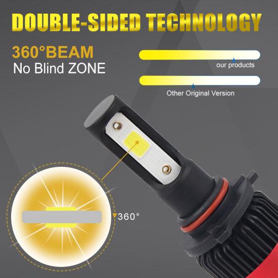 Auto 8000lm LED H4 H11 9005 9006 Car LED Headlight Bulb Mini S2 H11 H4 H7  LED
