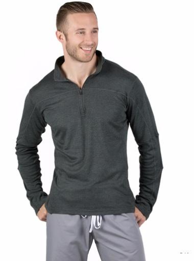Customized Fashion Stretch Long Sleeve Men's Sportwear Tshirt Uniforms