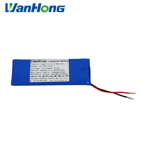 6045121pl 4600mAh 3.8V Li-Polymer Battery/Lithium Battery/Lithium Ion Battery/Deep Cycle Battery/Rechargeable Battery for Power Bank