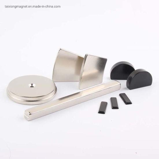 China Supplier Ni-Cu-Ni Coaing Nedoymium Large Disk Magnet