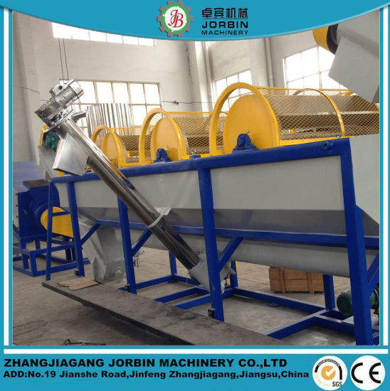 LDPE HDPE PP Agricultural Film Recycling Washing Line