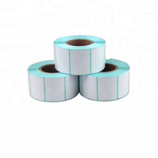 Custom Printed Roll Thermal Transfer Label / Blank Self Adhesive Label Sticker