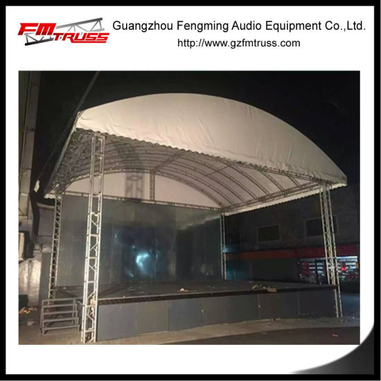Nigeria Big Truss Structure with Tent Roof Cover for Temporary Event & China Nigeria Big Truss Structure with Tent Roof Cover for ...