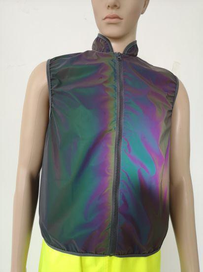 2020 Hot Sales Traffic Safety Vest Sport Running Vest Belt Waist Vest Road Warning Safety Vest with Colorful Reflective Fabric