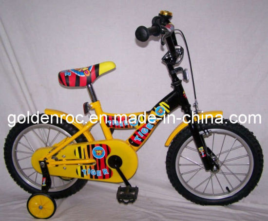 "16"" Steel Frame Kids Bike (1638T)"