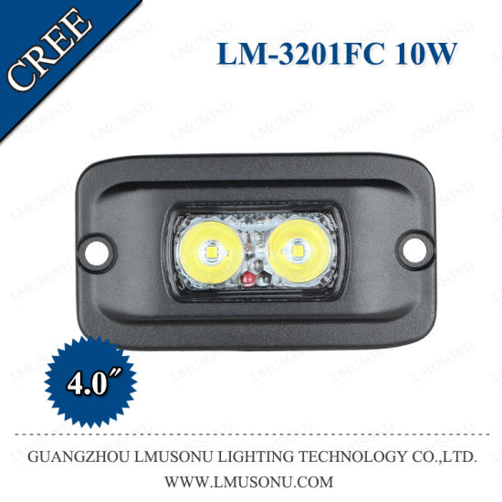 Great New 3201FC High Intensity IP67 CREE 2PCS*5W 4 Inch 10W Working Light LED Fog  Light With EMC