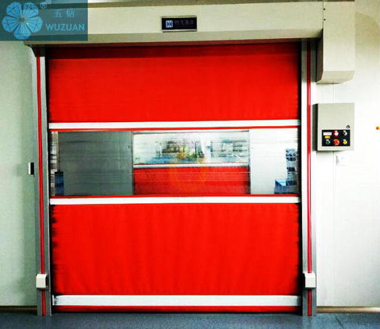 Automatic Commercial and Industrial Remote Control High Speed Logistic Warehouse/Garage/Work Shop PVC Rolling Shutter Security Door