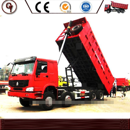 Best Condition Used Sinotruk HOWO 12 Tires Tipper Low Price Dump Truck for Africa Market