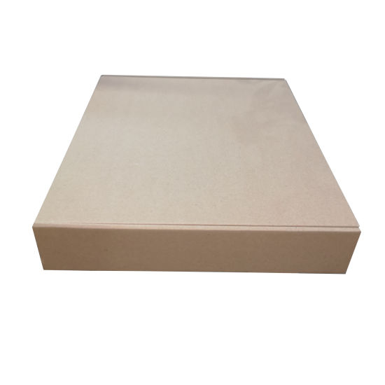 Tuck Top Box for Packaging Pizza with Colorful Glossy Lamination Outside and Kraft Paper Inside