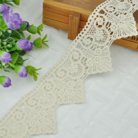 Triangular Fringe Cotton Lace Embroidery Trimming