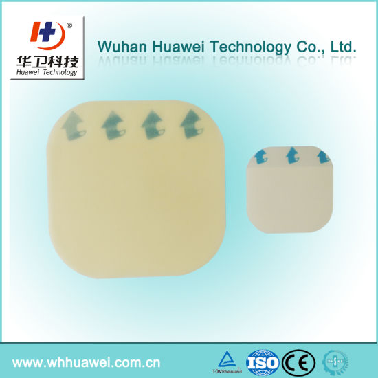 Oval and Square Hydrocolloid Waterproof Adhesive Wound Care Dressing pictures & photos