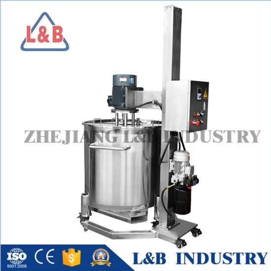 Stainless Steel Chili Sauce Mixer Blender Industrial High Shear Mixers for Sale