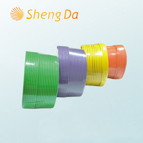 PVC Insulated CATV and Satellite TV Communication Rg-6 Coax Cable pictures & photos