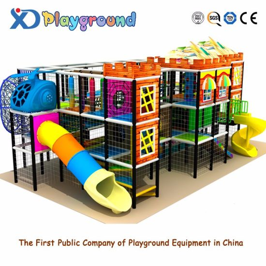 Used Wood Indoor Playground Equipment for Sale Children Playground Equipment Indoor Franquias