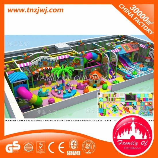 Toddler Jungle Gym Kids Naughty Castle Indoor Playground pictures & photos
