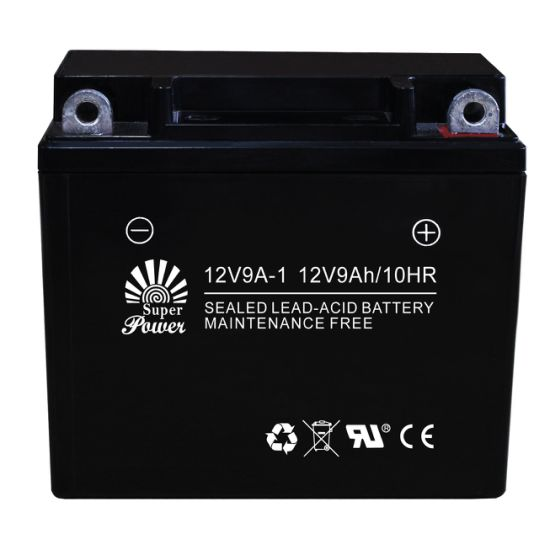 Motorcycle Battery 12V 9ah AGM Sealed Maintenance Free Type Called 12n9a