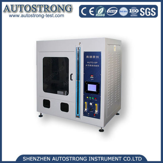 Horizontal and Vertical Burning Test / Testing Equipment
