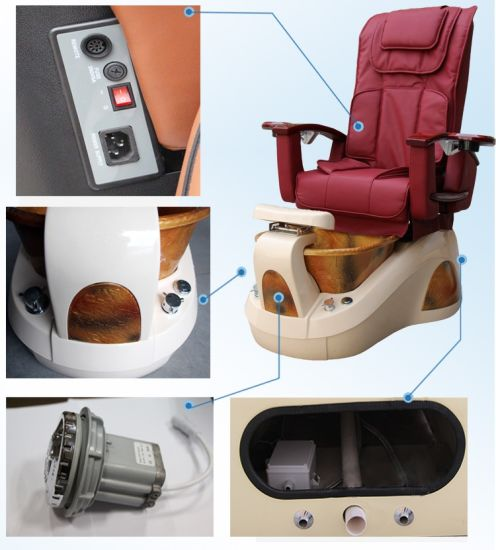 Hot Sale Pedicure & Massage SPA Chair with Modern Design (D102-18) pictures & photos
