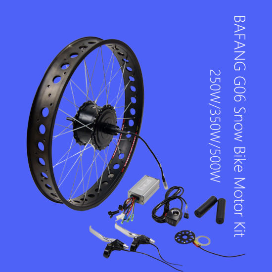 20X4 Fat Tire Electric Bike Conversion Kit with Bafang Rear Hub Motor pictures & photos
