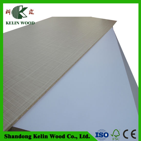 Fashion Colors Wholesale Melamine Laminated Particle Board 25mm Price