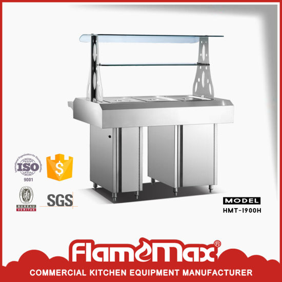 Stainless Steel 2 Pan Buffet Bain Marie (hot) (HMT-900HB) pictures & photos