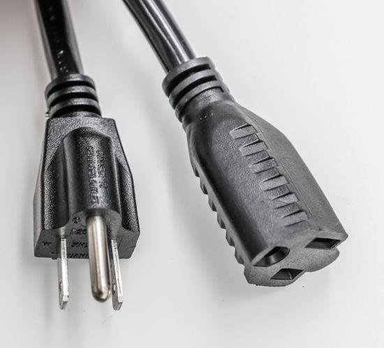 UL Extension Cords/NEMA 5-15p Plug/AC Extension Cord