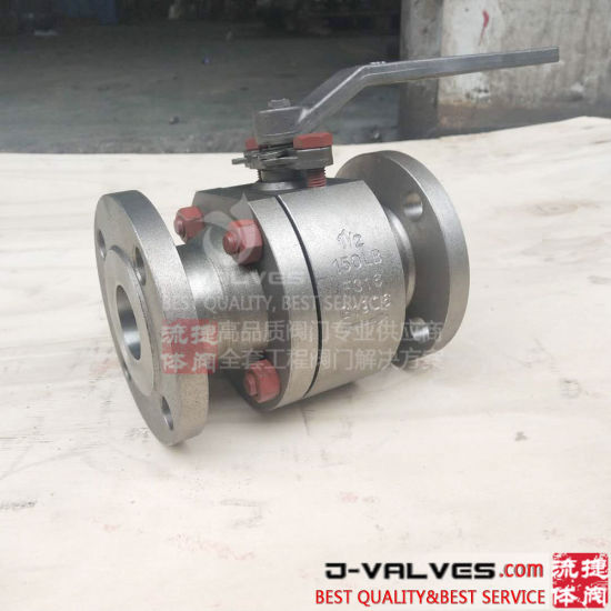 Ni Alloy Flanged Ball Valve with 150lb