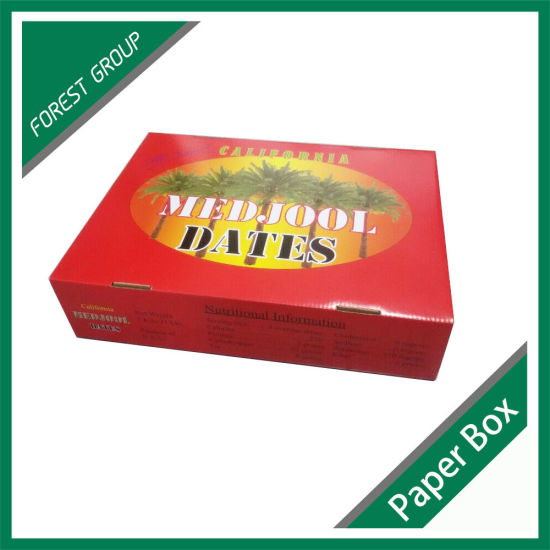 Corrugated Color Paper Box pictures & photos