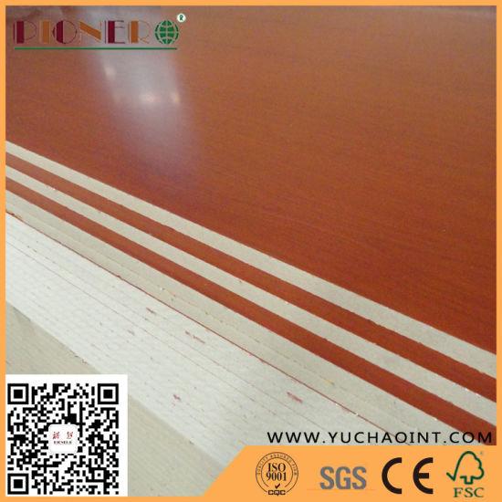 Wooden Color Melamine MDF Plywood for Making Furniture
