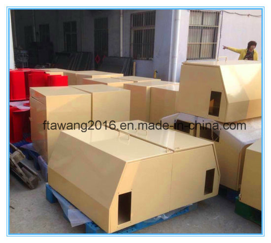 Powder Coated Yellow Box Steel Enclosurer