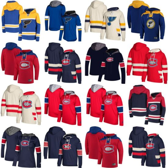 Wholesale 2019 Montreal Canadiens St. Louis Blues Sweaters Pullovers Hoodies