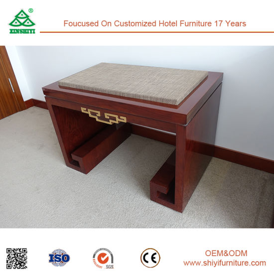 Plywood Frame with Fabric Upholster Luggage Rack for Hotel Bedroom pictures & photos