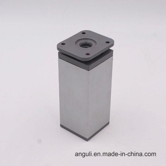 China Factory Outlet Aluminum Alloy Adjustable Sofa Leg China Sofa